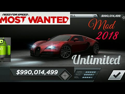 Need For Speed Most Wanted 1.3.103 Apk + Mod + Data For Android 2018