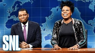 Weekend Update: Leslie Jones' Funeral Plans - SNL