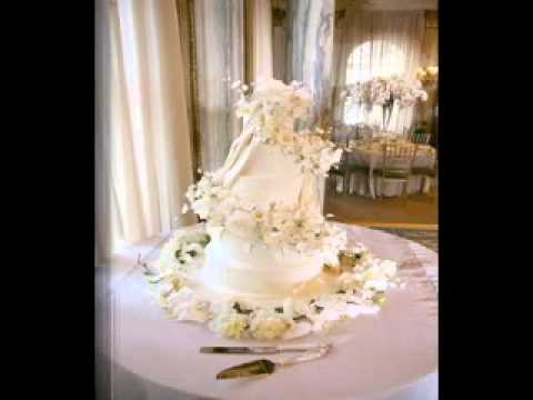 DIY Wedding cake table decorations - YouTube