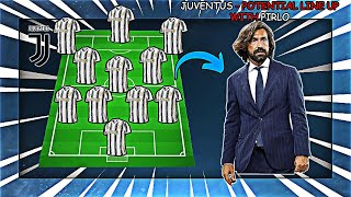 JUVENTUS - Potential Line Up With Transfers (2021) ft. Pirlo, Arthur, Aouar