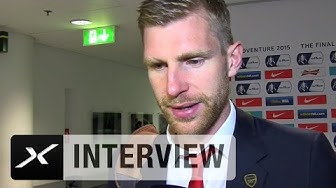 FA Cup: Per Mertesacker: Der Pokal liegt uns wohl   FC Arsenal - Aston Villa 4:0