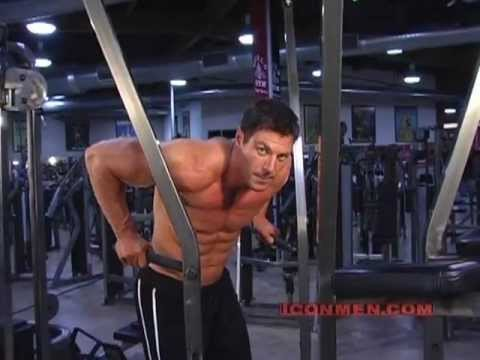 Christian Boeving  Chest Dips Bodybuilding