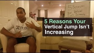 5 Reasons Your Vertical Jump Is Not Increasing (Simple Solution)