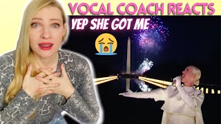 Vocal Coach/Musician Reacts: KATY PERRY 'Firework' Inauguration 2021 Performance Analysis!