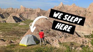 Backpacking in the BadĮands National Park South Dakota- Deer Haven