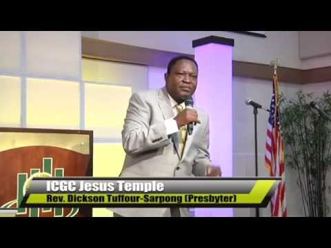 """TRUSTING GOD IN TOUGH TIMES""  by Rev.  Dickson Tuffour Sarpong   YouTube"