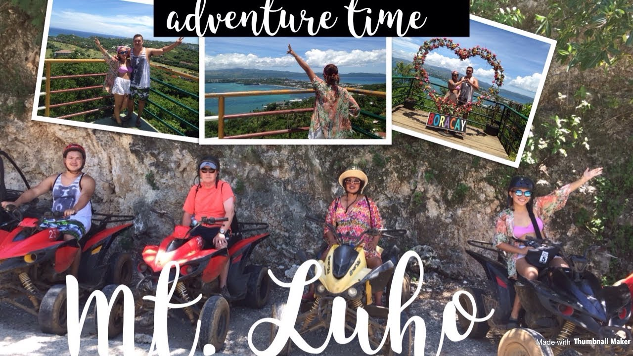 ATV Riding to Mt  Luho (Boracay, Philippines)