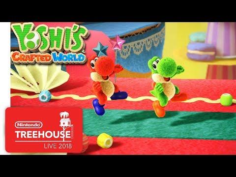 Novo video de Yoshi's Crafted World com quase 30 min. de gameplay