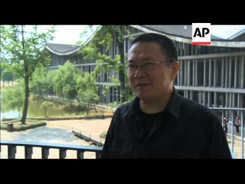 CHINESE ARCHITECT WINS TOP PRIZE