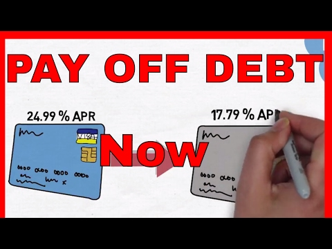 PAYING Off DEBT - 5 SIMPLE Ways To Pay Off Debt FAST