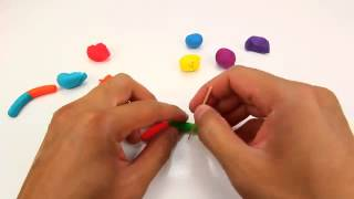 Play Doh Rainbow Gummy Worms   YouTube Thumbnail