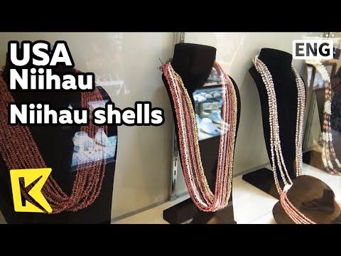 【K】USA Travel-Niihau[미국 여행-니하우]니하우 섬 니하우 쉘/Niihau shells/leis/Clam/Niihau leis