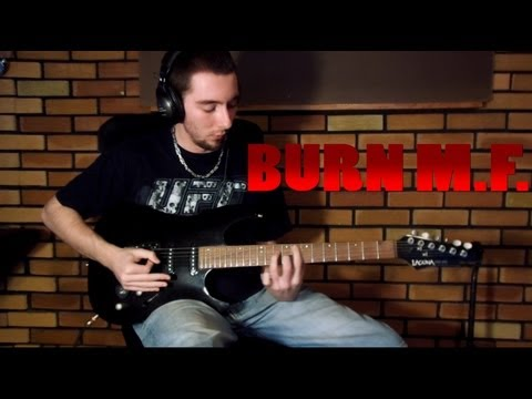 Five Finger Death Punch - Burn M.F. (Guitar Cover)