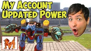 War Robots Gameplay: New Power Setups & Tankers?!? My Acc - WR