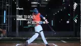 Little League vs MLB players : ESPN's Sport Science Baseball