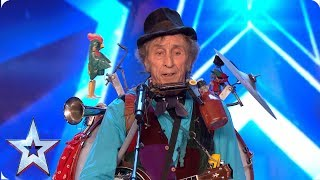 Don't give Granny any whisky at the wedding! | Auditions | BGT 2019