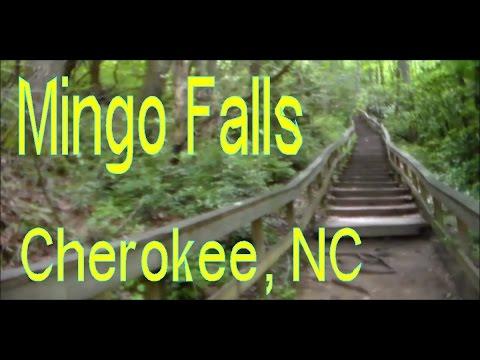 Mingo Falls - Short Hike - Cherokee - North Carolina