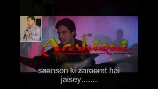 saanson ki zaroorat hai jaisey... with karaoke by: Jitendra Dhasmana