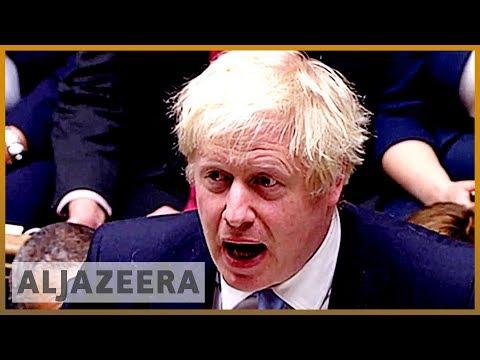 UK parliament suspended