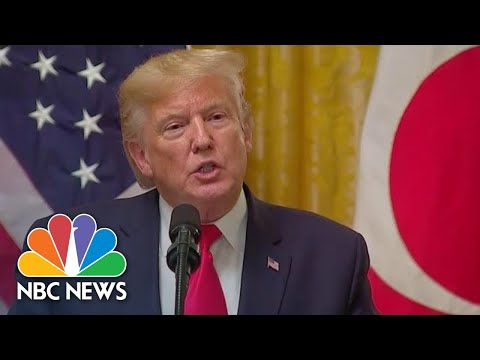 Trump On Impeachment Hearing: 'I Want To Find Out Who Is The Whistleblower' | NBC News