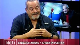 Alfonso Rodríguez cineasta exitoso; ahora en la política