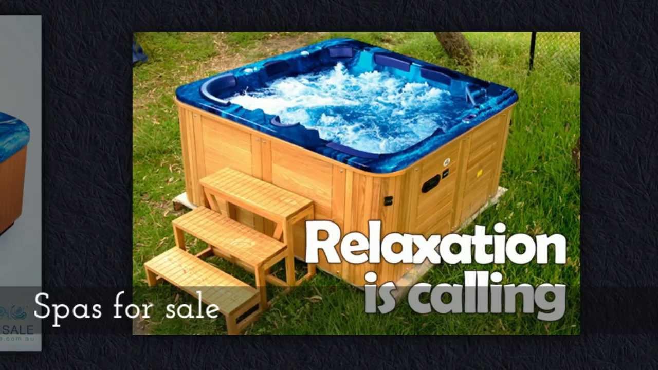 Outdoor spa baths | 1300 985 008 - YouTube