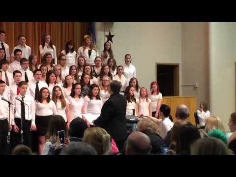 How Can I Stop From Singing, Anna Gehl soloist with the North Tonawanda Middle School Chorus