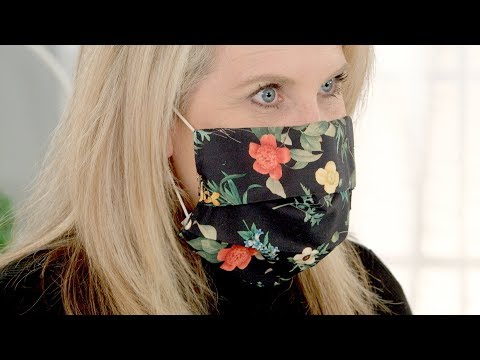 Easy-to-make Cozy Face Mask Cover