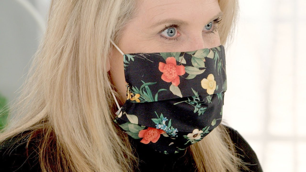 Easy To Make Cozy Face Mask Cover Youtube