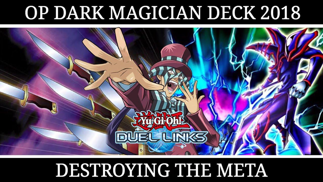 DARK MAGICIAN DECK 2018 | NEW BUILD + DECKLIST [Yu Gi Oh! Duel Links]