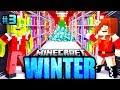 GEHEIMER TRESOR vom WEIHNACHTSMANN     Minecraft WINTER  03