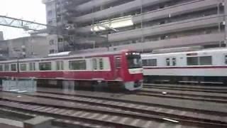 京浜急行 エアポート急行 中木戸~京急川崎車窓(シーメンスGTO)