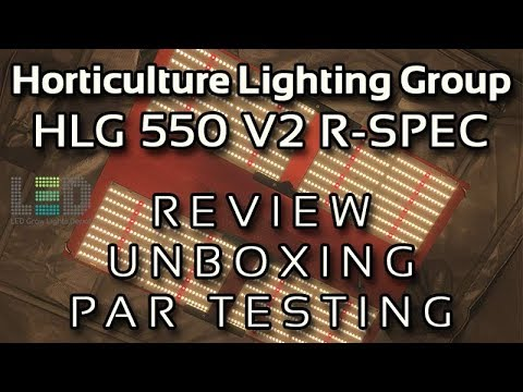 HLG 550 V2 Quantum Board LED Grow Light - Detailed Review