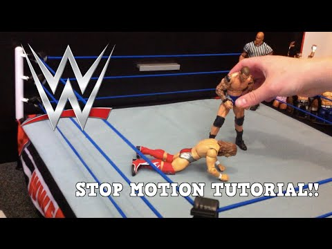 WWE Stop Motion Tutorial! - YouTube