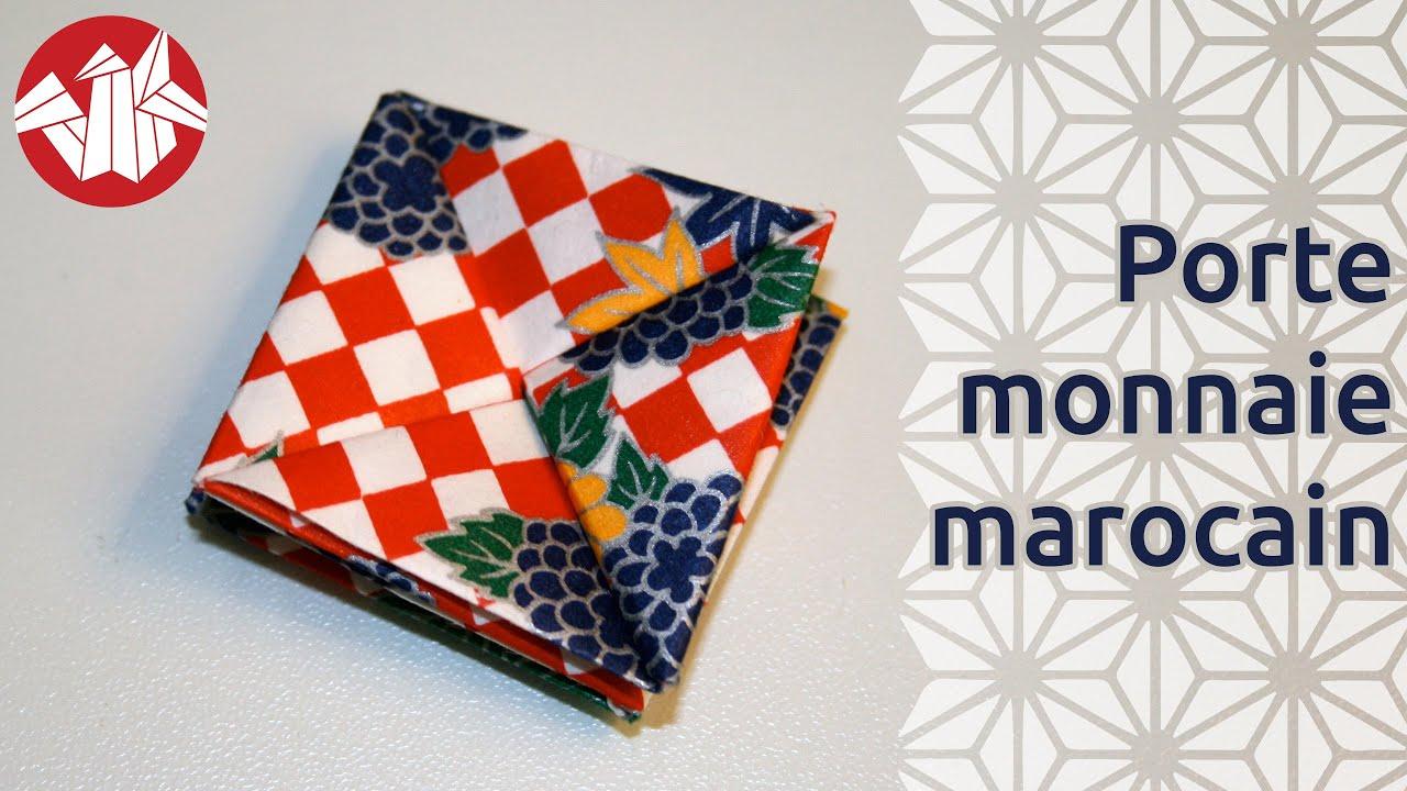 origami porte monnaie marocain paper wallet senbazuru youtube. Black Bedroom Furniture Sets. Home Design Ideas