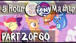5 hour long happy tree friends my little pony fim dubstep mashup part 2