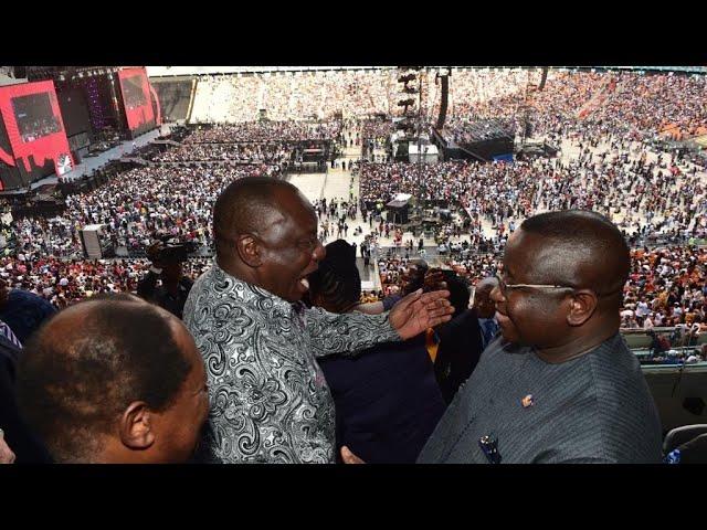 GLOBAL CITIZEN   President Cyril Ramaphosa & Luwellyn Landers