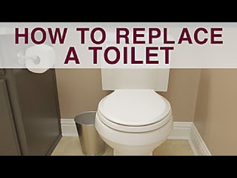 How To Replace A Toilet Diy Network Youtube