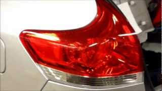 How to replace rear tail light Toyota Venza