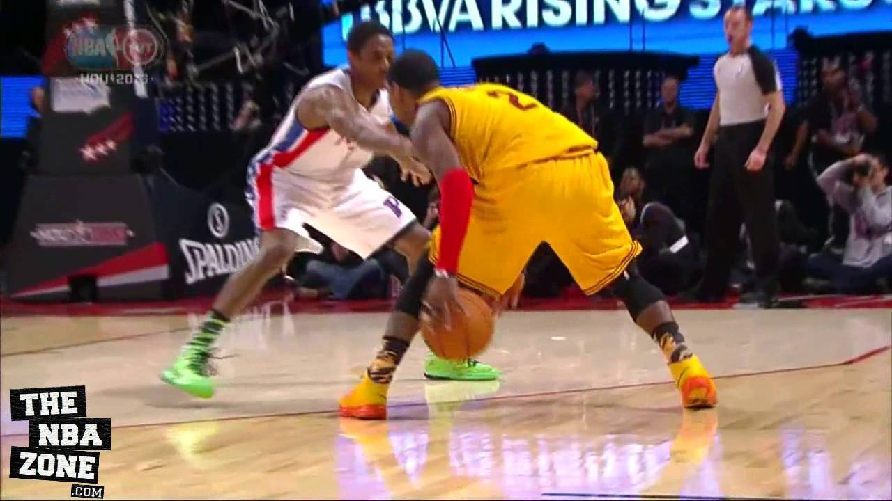 Kyrie Irving Breaks Brandon Knight's Ankles By Crossover ...  Kyrie Irving Br...