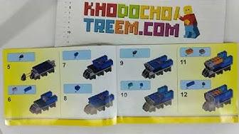 Hướng dẫn lắp ráp Lepin 42001 Lego Creator 10696 Medium Creative Brick Box giá sốc rẻ nhất