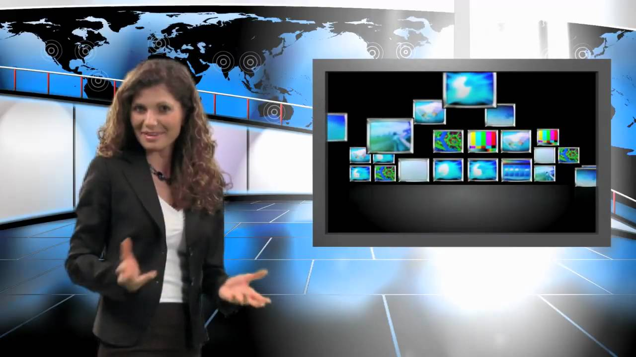 After Effects Green Screen Virtual Studio Examples From Virtual Studio Set Com Youtube