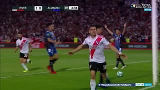 GOL River 1-0 Almagro (Rafael Santos Borré) - Copa Argentina 2019
