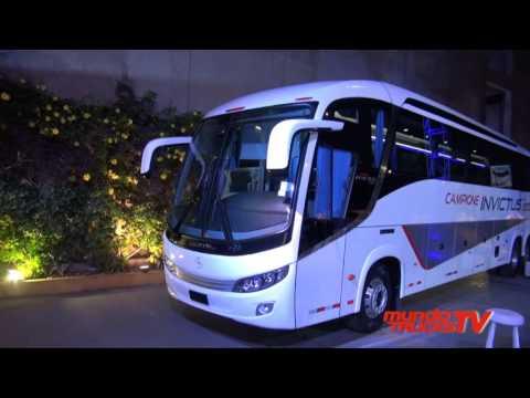 Mercedes-Benz y Comil presentan Moderno y Sofisticado Bus Interprovincial Campione Invictus