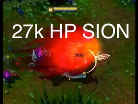 New Sion Tanking Fountain Turret - Most OP Tank! League of Legends
