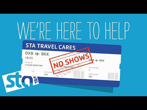 WHAT IF I NO SHOW? | Flight Help | STA Travel Cares