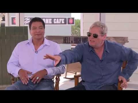 Jeff Bridges & Gil Birmingham about the silliest jobs they did before becoming actors