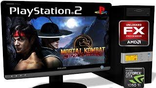 PCSX2 1.5.0 [PS2] - Mortal Kombat: Shaolin Monks [Gameplay] OpenGL api #3