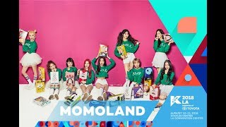kcon 2018 la 2nd artist announcementmomoland m countdown 180413 ep0