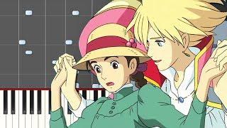 """【楽譜あり】人生のメリーゴーランド/久石譲(ピアノソロ中上級)""""Howls Moving Castle"""" - Jinsei no Merry Go Round [PIANO]"""